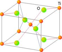 Estructura del TiO2 (rutilo)