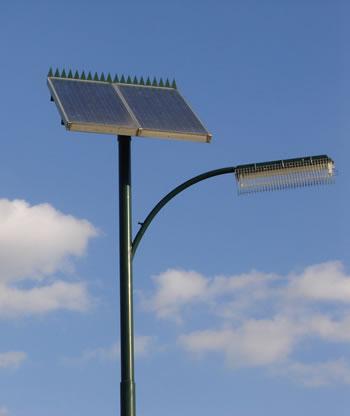 Iluminacion exterior fotovoltaica